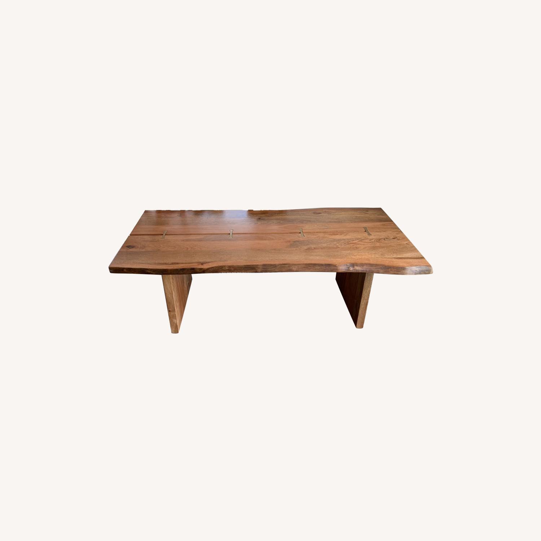 World Market Live Edge Wood Coffee Table - image-0