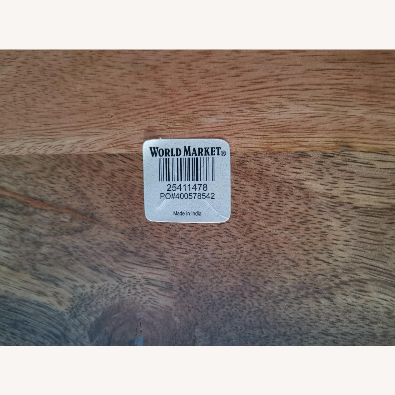 World Market Live Edge Wood Coffee Table - image-4