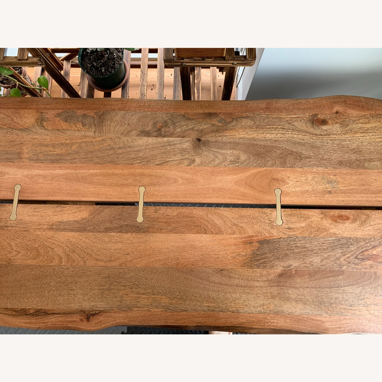 World Market Live Edge Wood Coffee Table - image-2