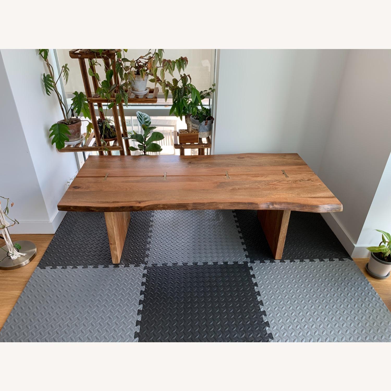 World Market Live Edge Wood Coffee Table - image-1