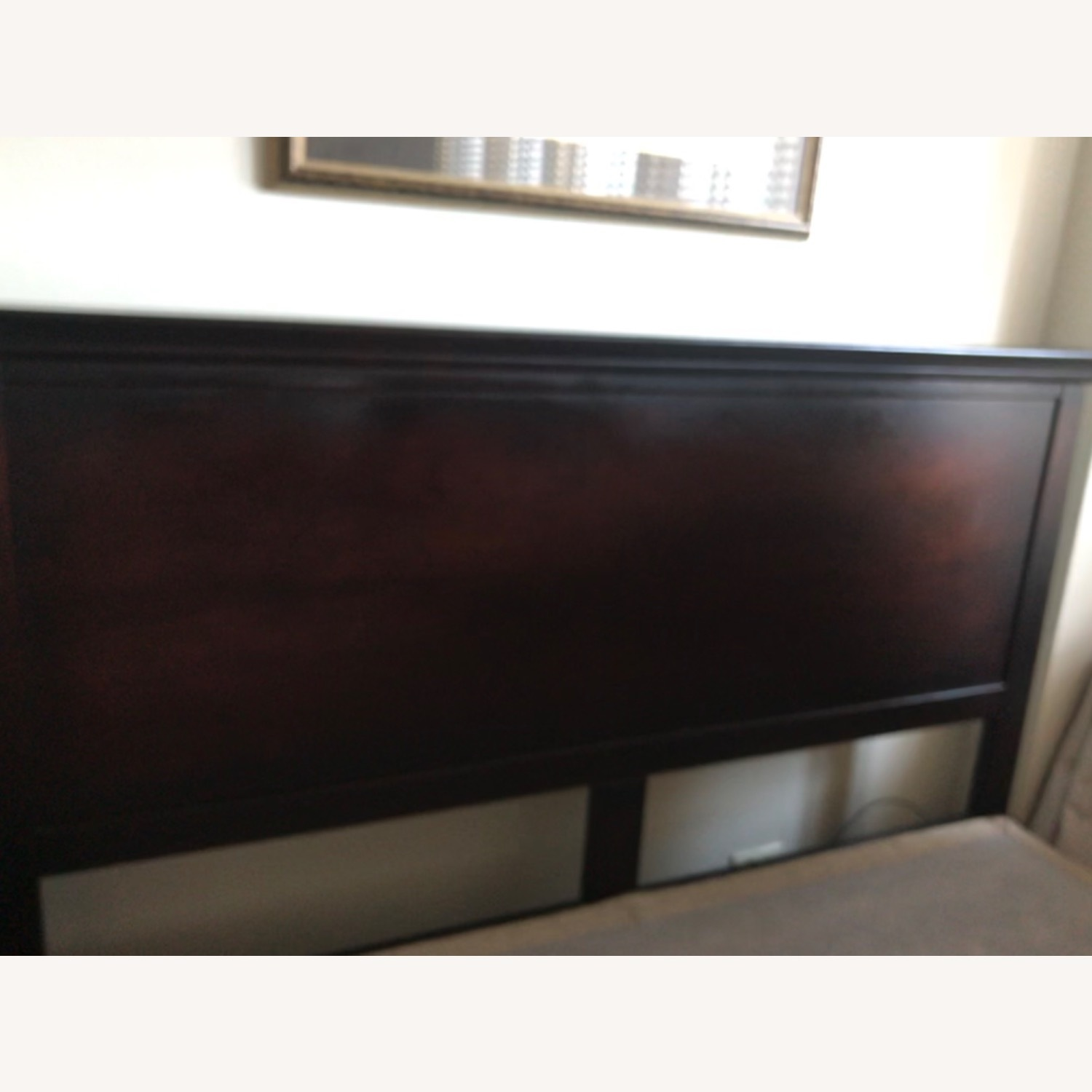 High Profile Queen Bed Frame - image-1