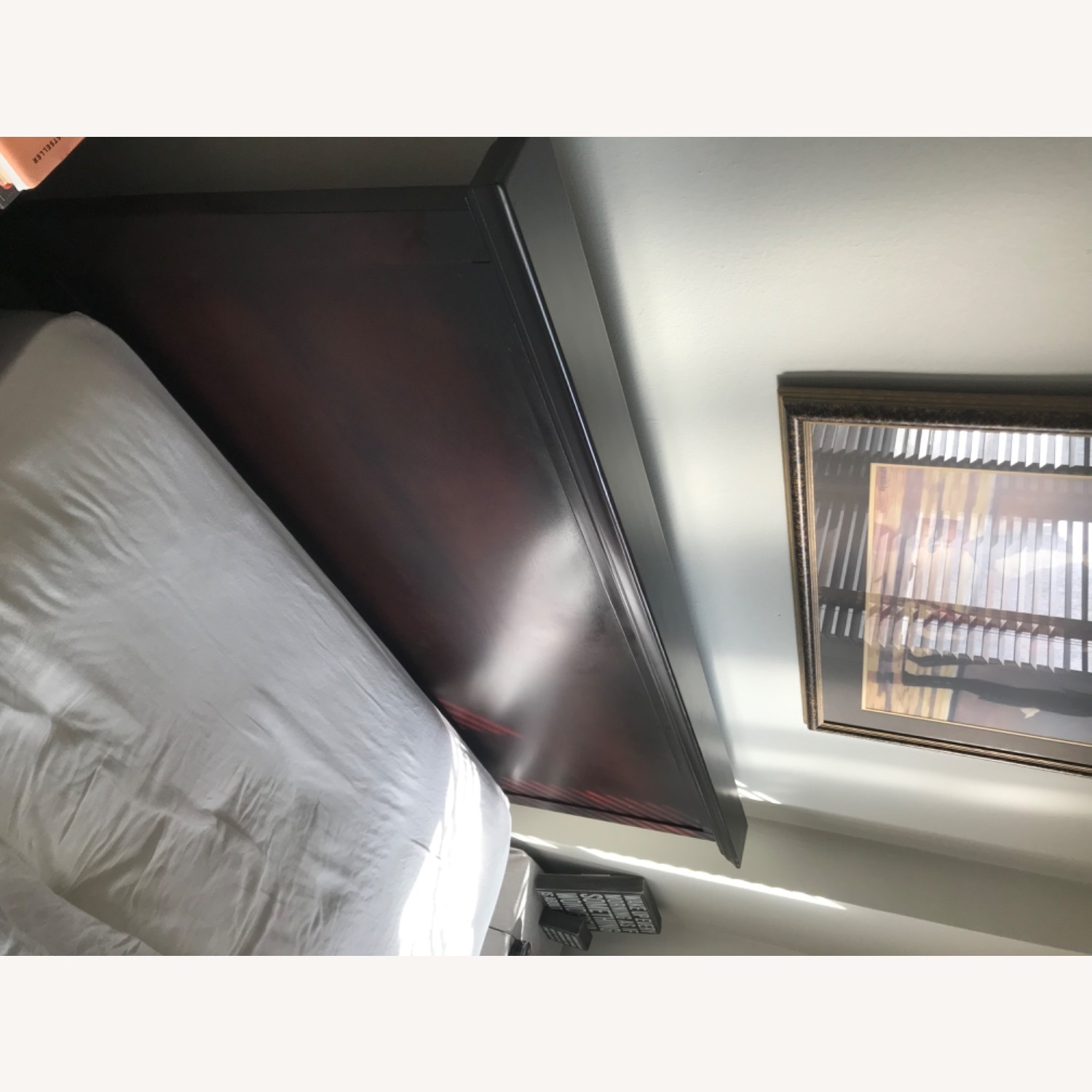 High Profile Queen Bed Frame - image-2