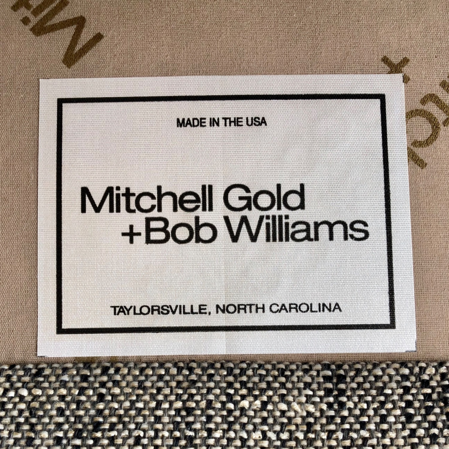 Mitchell Gold + Bob Williams Sectional Sofa - image-2