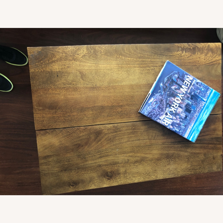 West Elm Storage Coffee Table - image-4