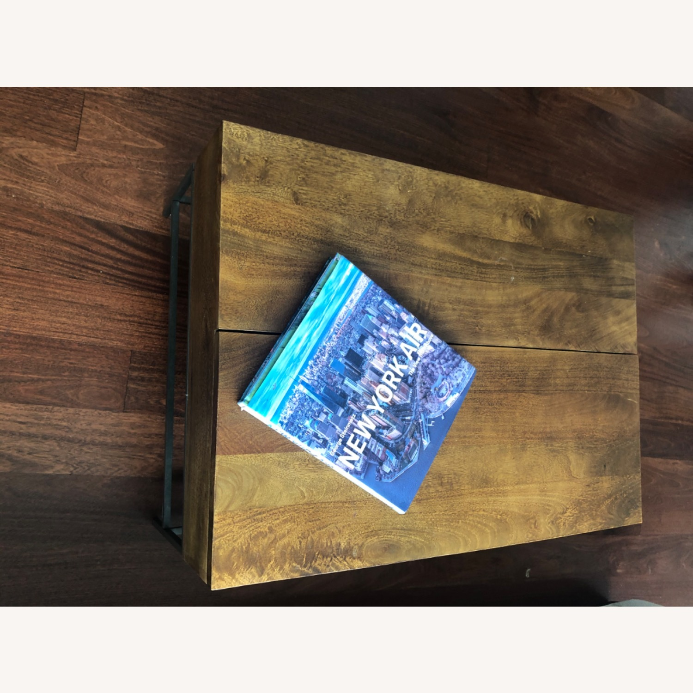 West Elm Storage Coffee Table - image-3