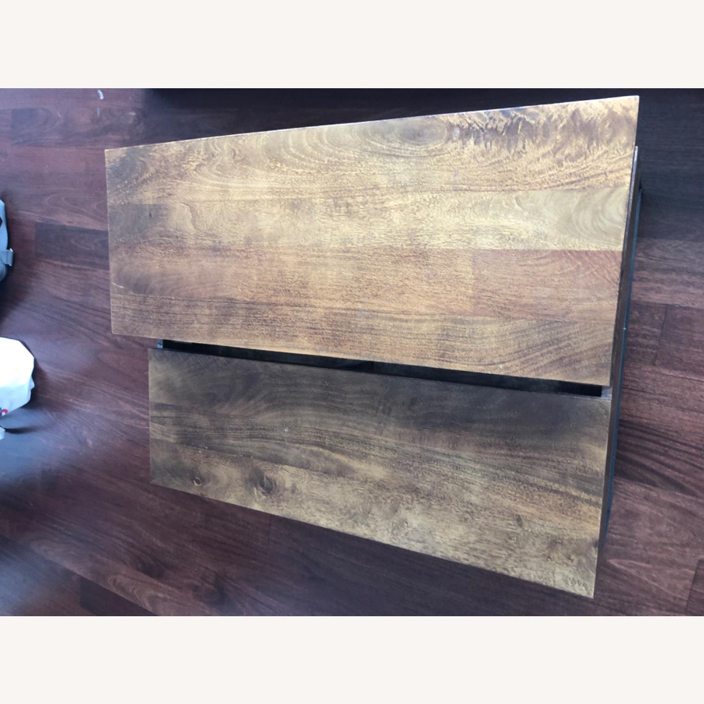 West Elm Storage Coffee Table - image-5