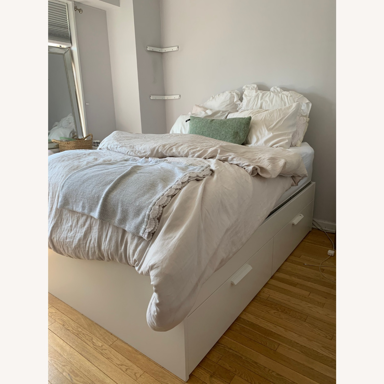 Ikea Bed Frame With Storage While Full Aptdeco,Cottage Country Kitchen Lighting