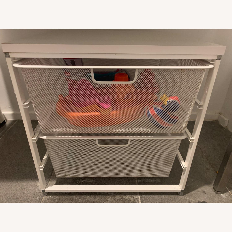 Elfa White Cabinet-Sized Elfa 2-Drawer Solution - image-10