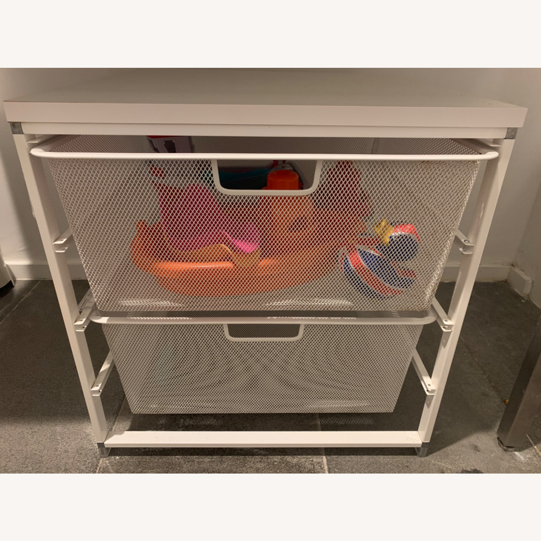 Elfa White Cabinet-Sized Elfa 2-Drawer Solution - image-9