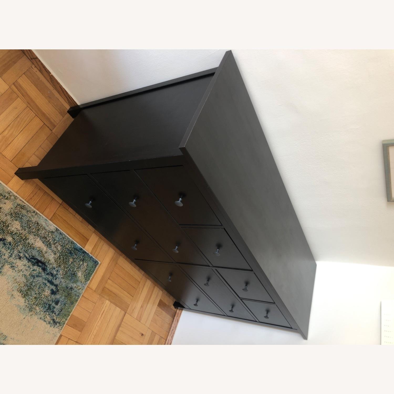 IKEA Hemnes Black-Brown 8 Drawer Dresser - image-5