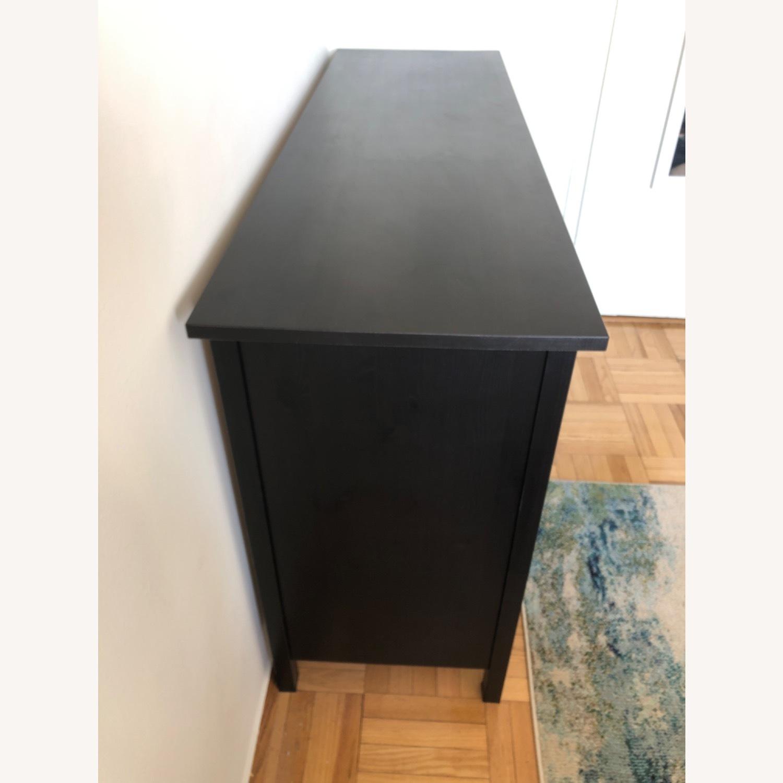 IKEA Hemnes Black-Brown 8 Drawer Dresser - image-3