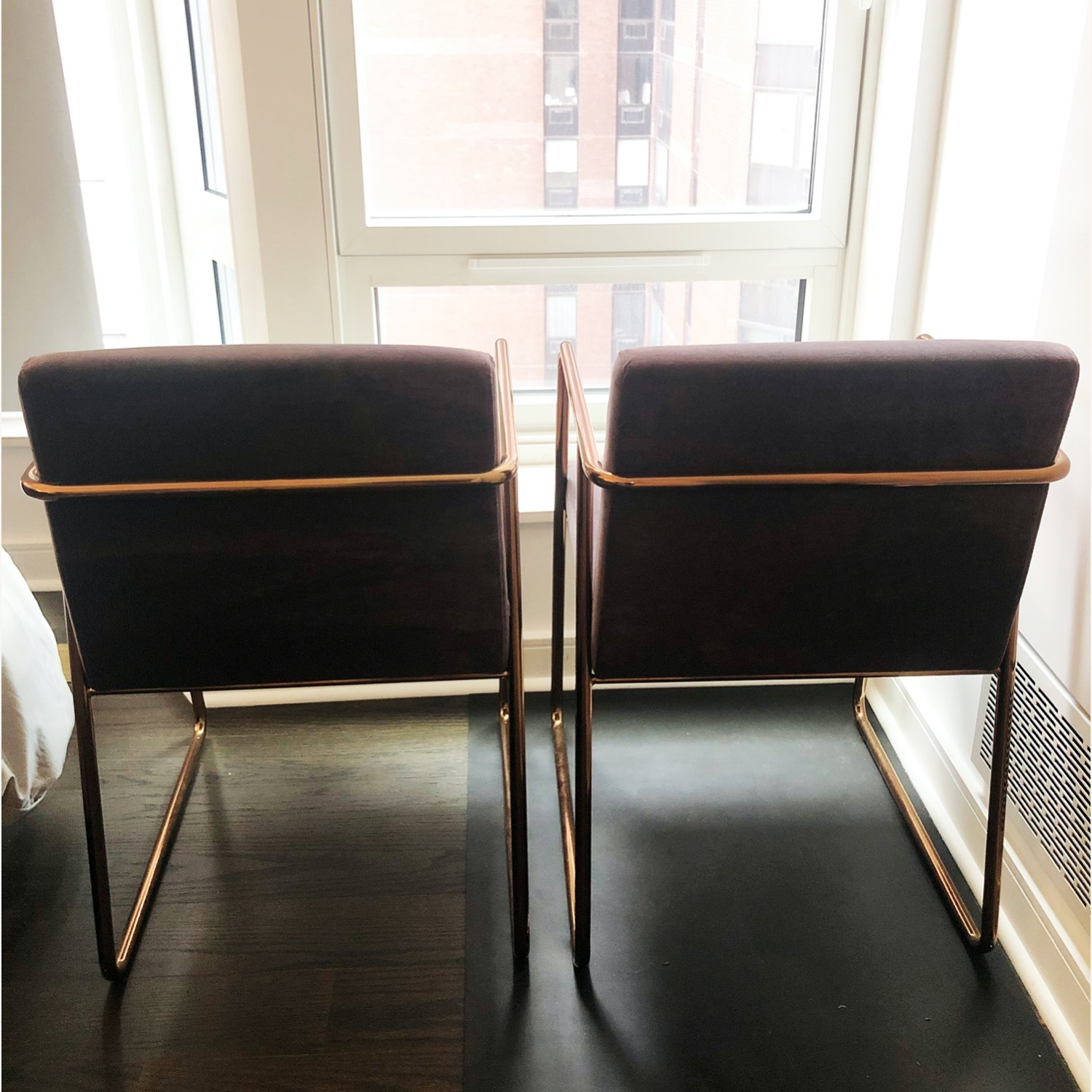 CB2 Rouka Dining Chairs - image-2