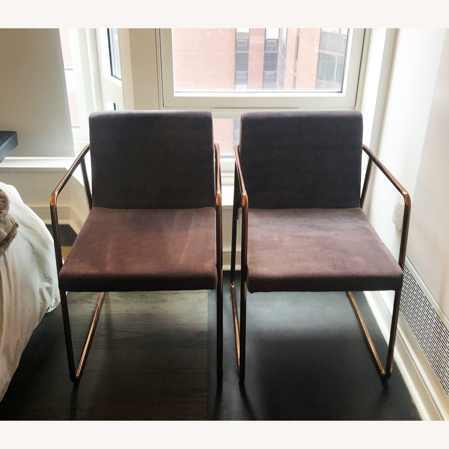 CB2 Rouka Dining Chairs - image-1