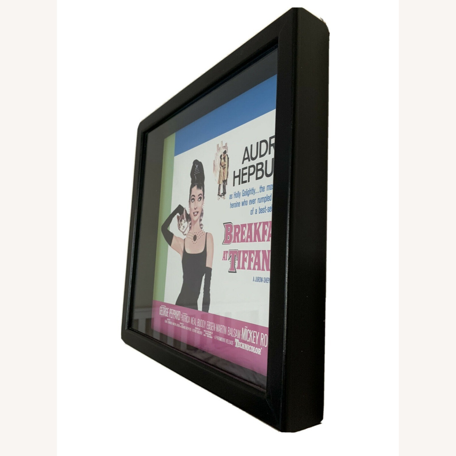 Vintage Breakfast at Tiffany's Poster Framed - image-3