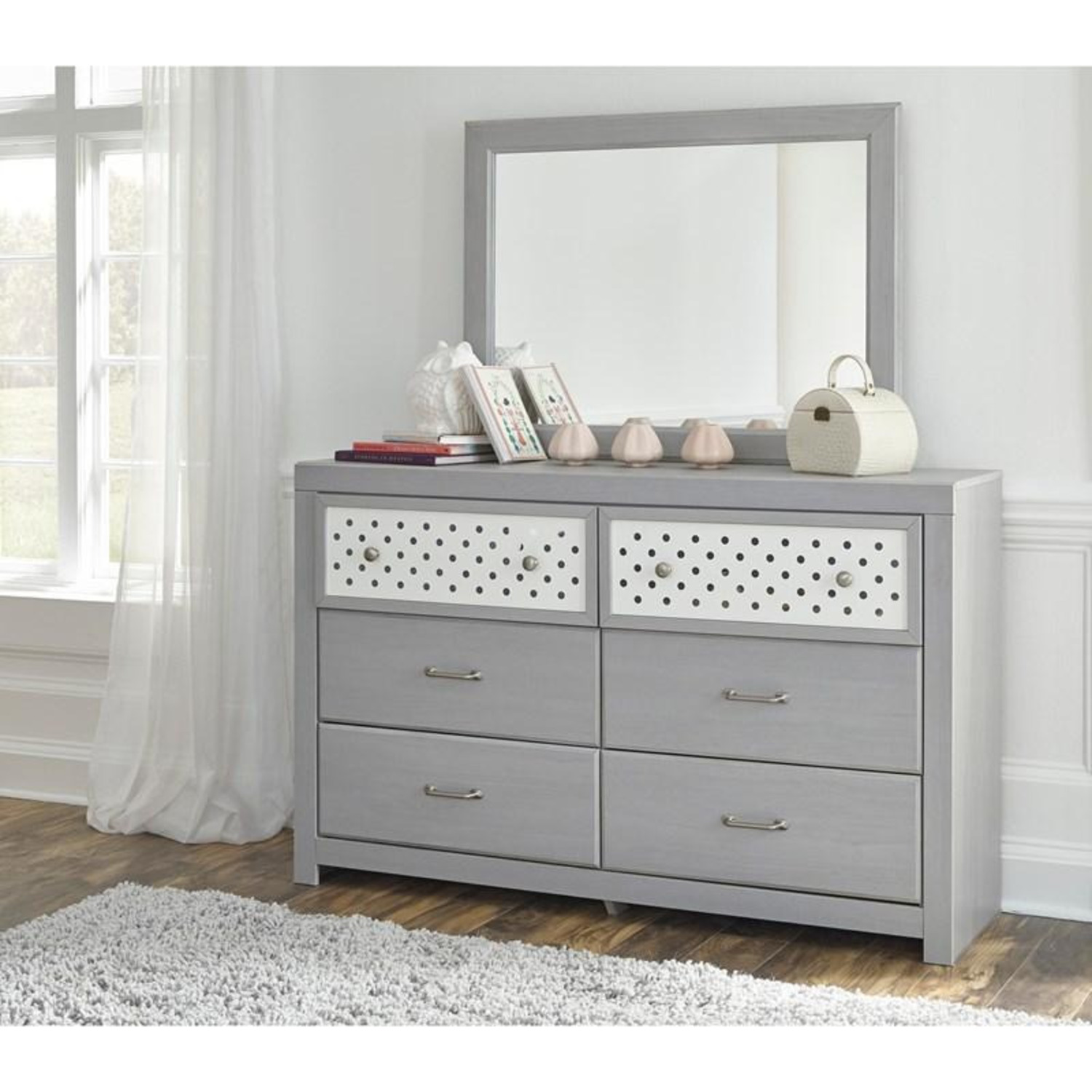 Arcella 6 Drawers Kids Dressers - image-2