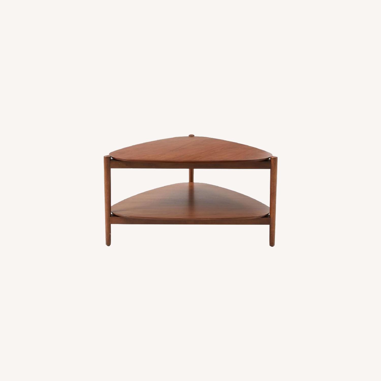 West Elm Retro Tripod Coffee Table - image-0