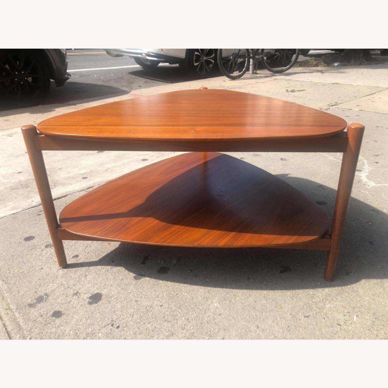 West Elm Retro Tripod Coffee Table - image-10