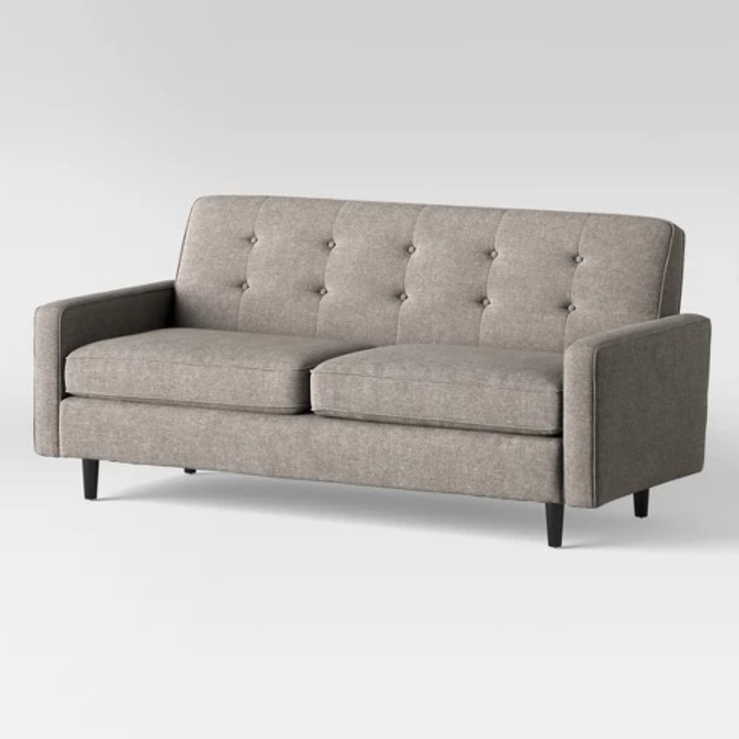 Target Largent Tufted Gray Couch - image-2