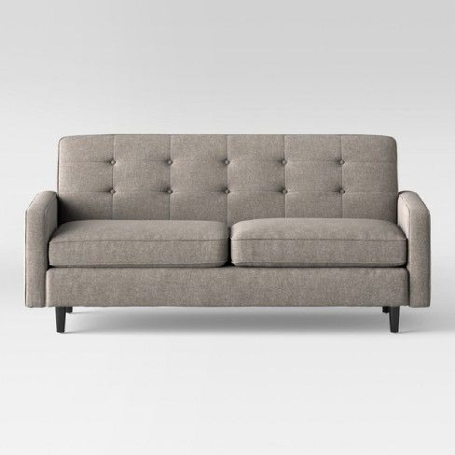 Target Largent Tufted Gray Couch - image-1