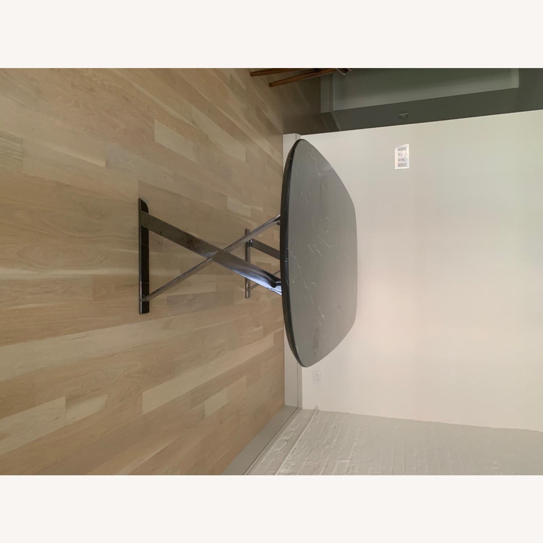 Modloft Modern Furniture Black Marble Composite Dining Table - image-5