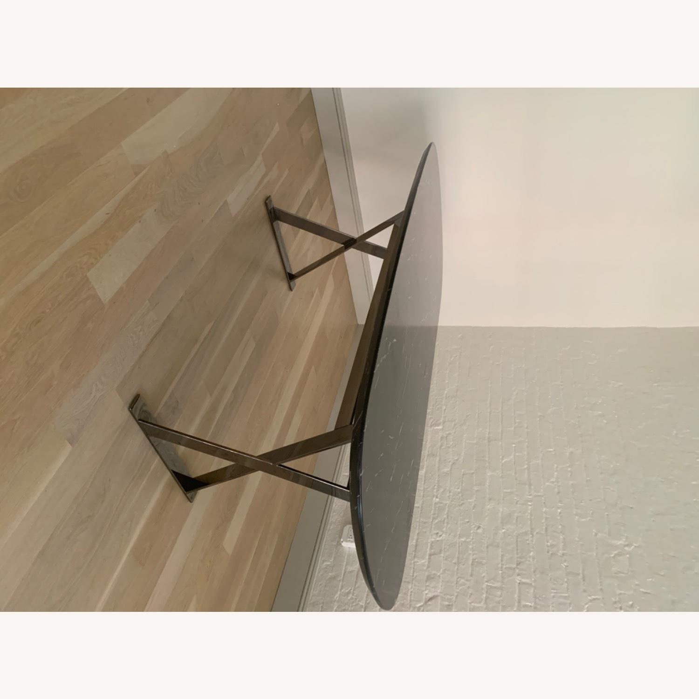 Modloft Modern Furniture Black Marble Composite Dining Table - image-6