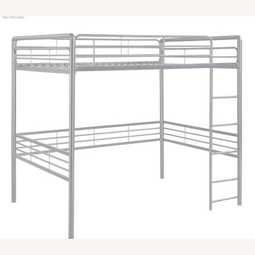 Used DHP Furniture Metal Full Loft Bed for sale on AptDeco