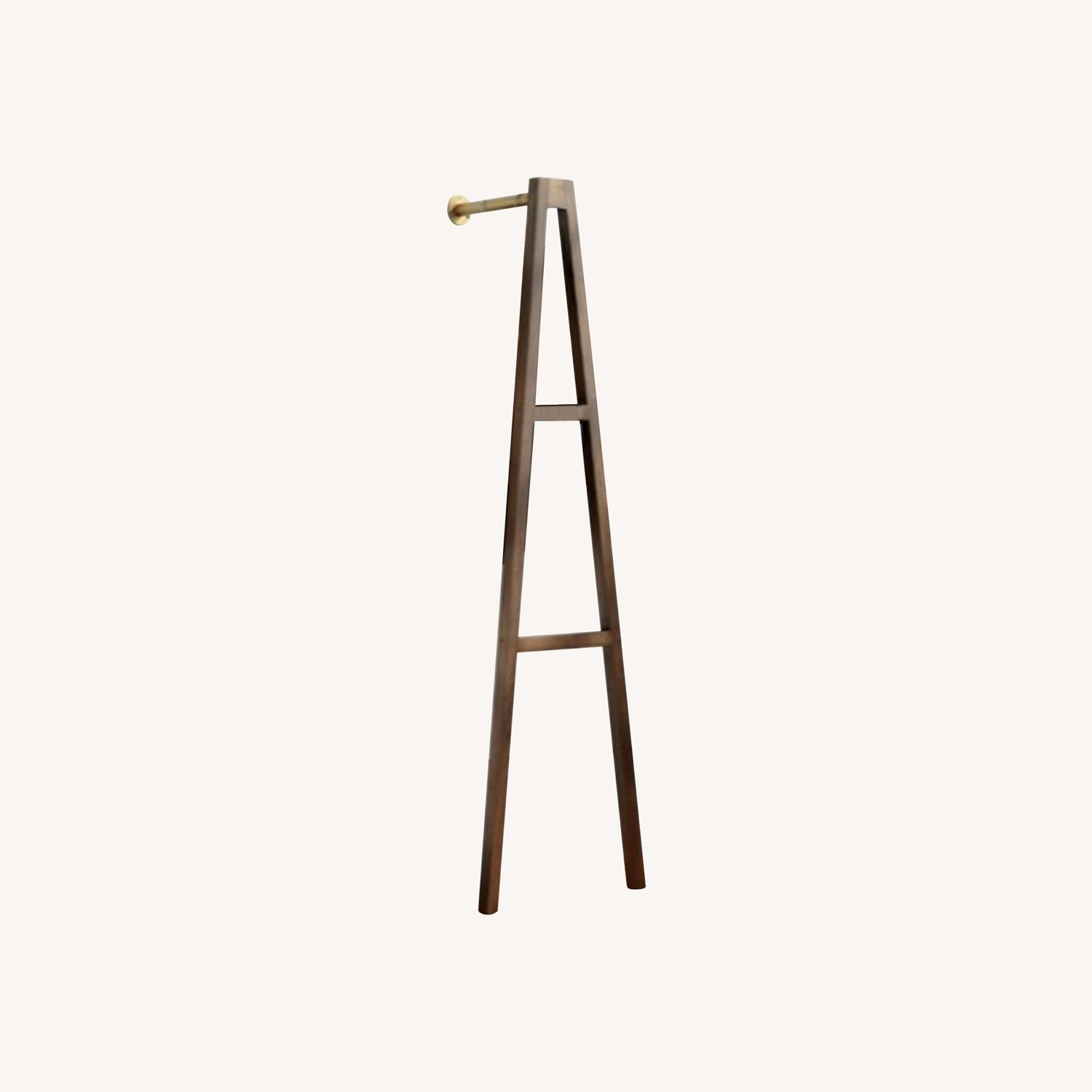 CB2 Crossbar Wall-mounted Clothes Stand - image-0