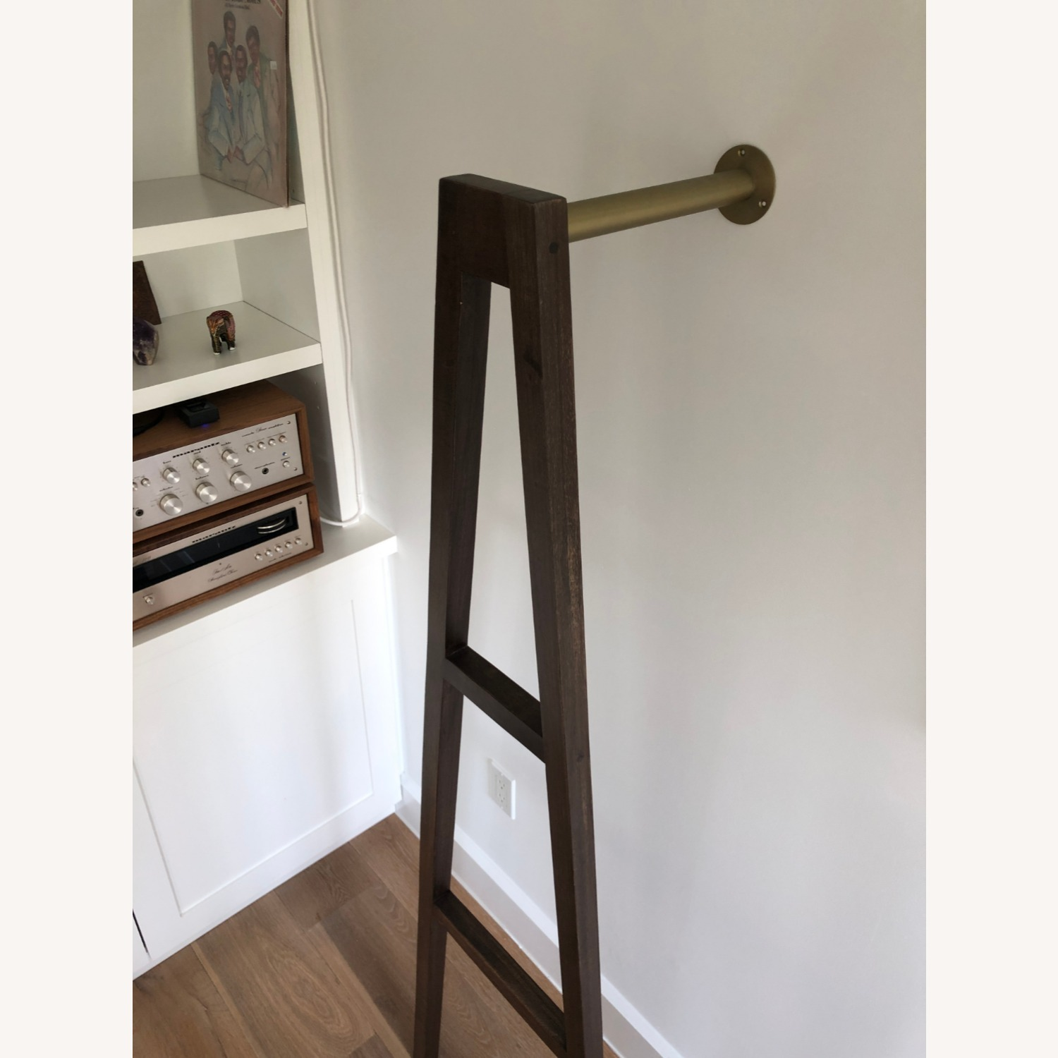 CB2 Crossbar Wall-mounted Clothes Stand - image-3
