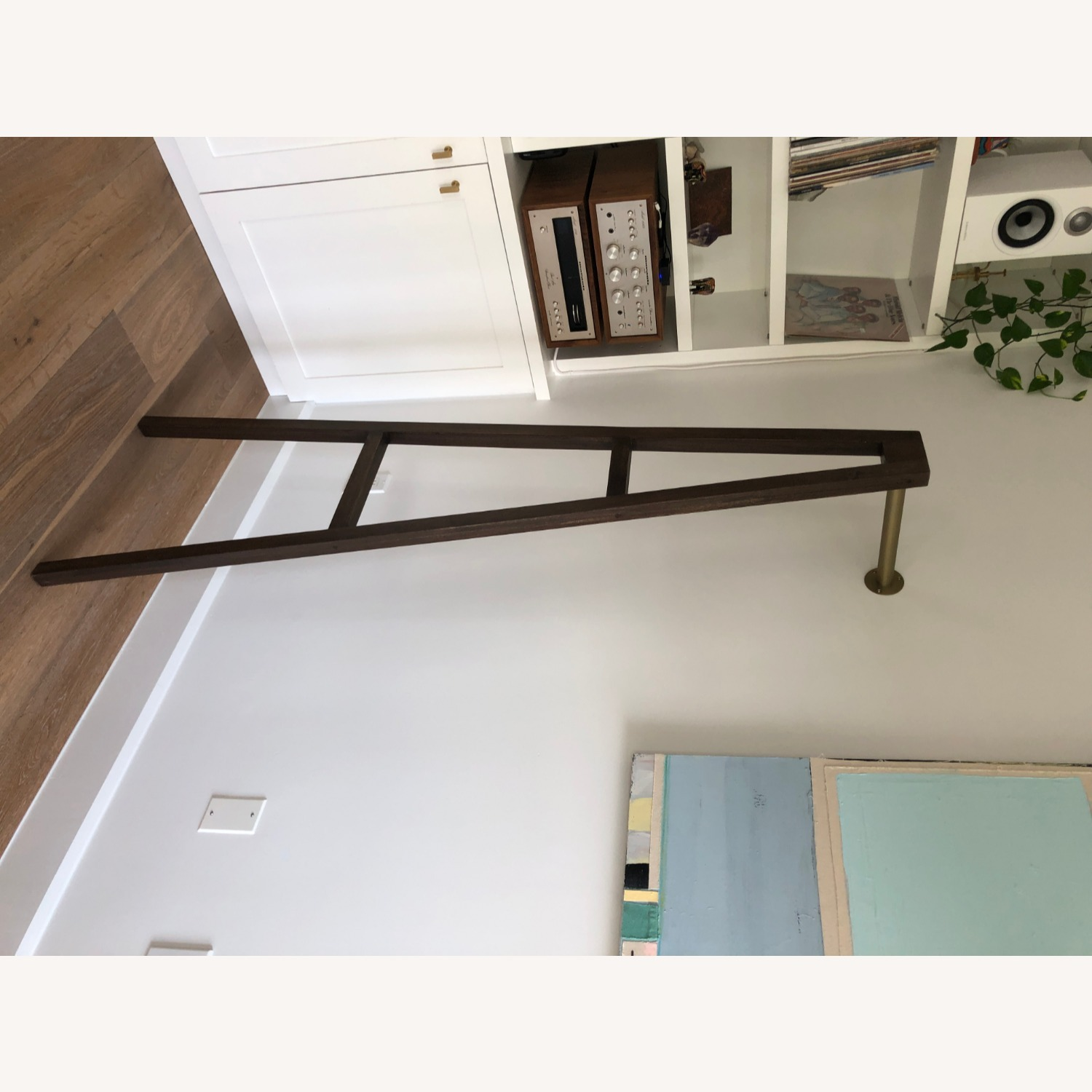 CB2 Crossbar Wall-mounted Clothes Stand - image-4