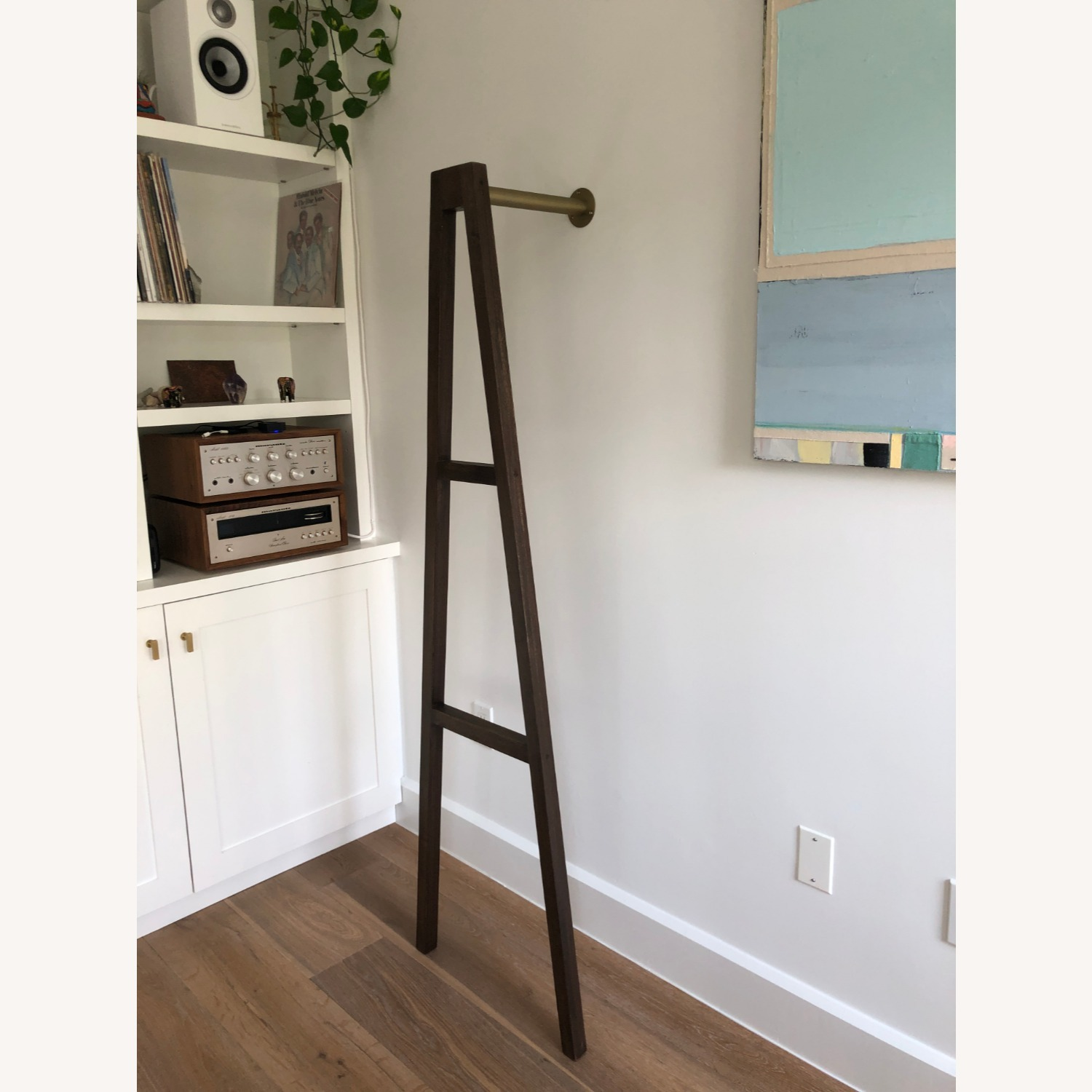 CB2 Crossbar Wall-mounted Clothes Stand - image-2