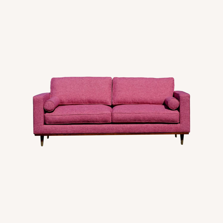 Brooklyn Space Introspect Mid-Century Modern Sofa - image-0