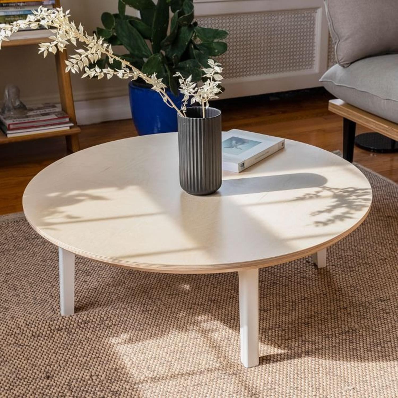 West Elm Floyd Round Coffee Table - image-3