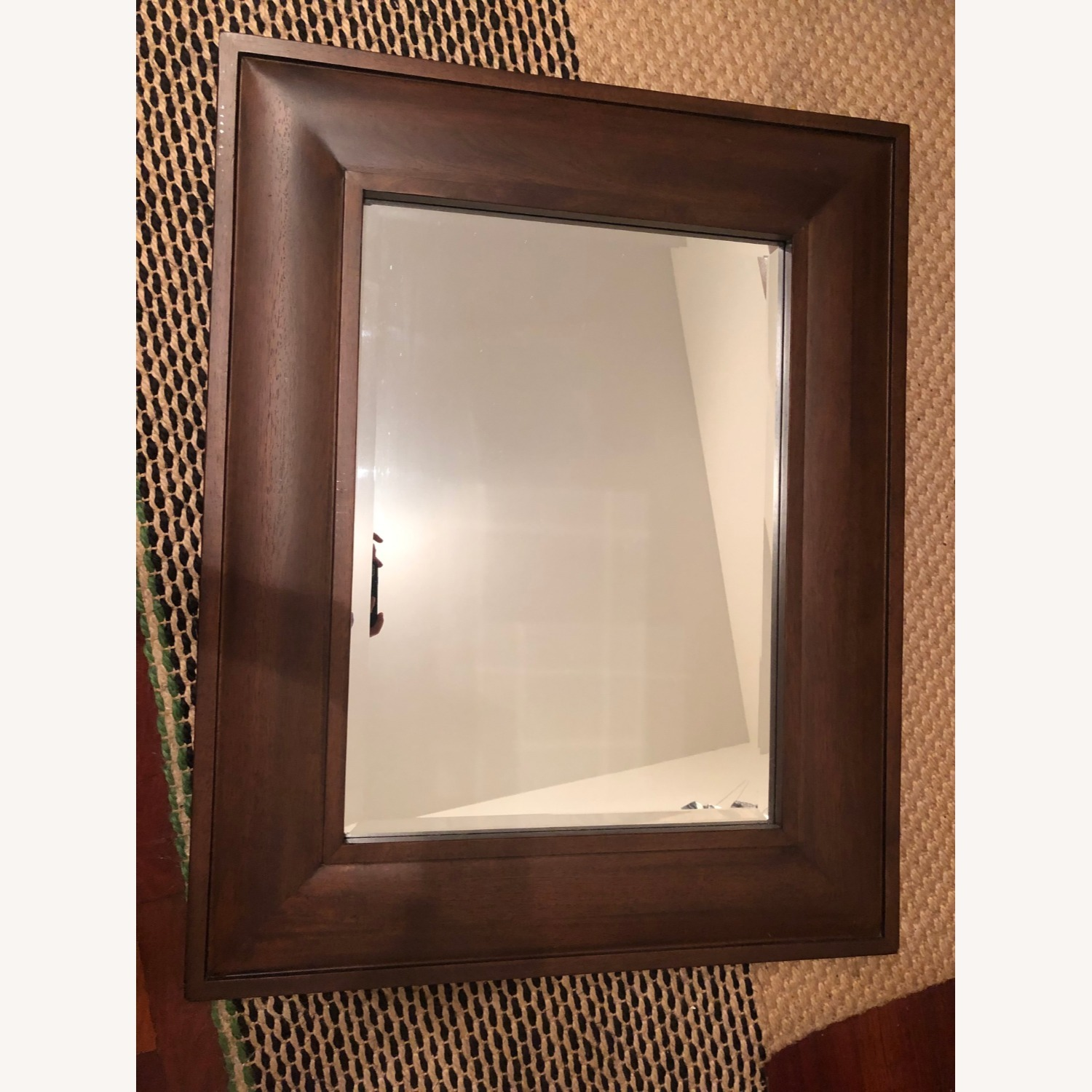 Pottery Barn Wooden Mirror - image-0