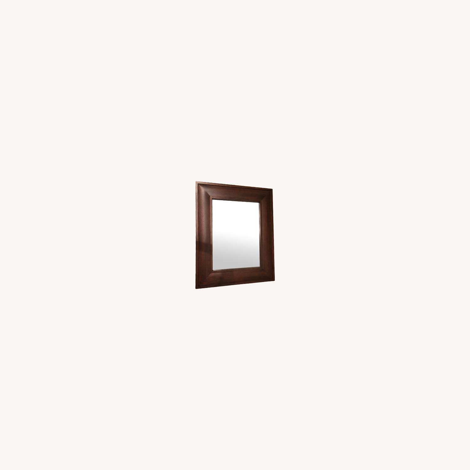 Pottery Barn Wooden Mirror - image-3