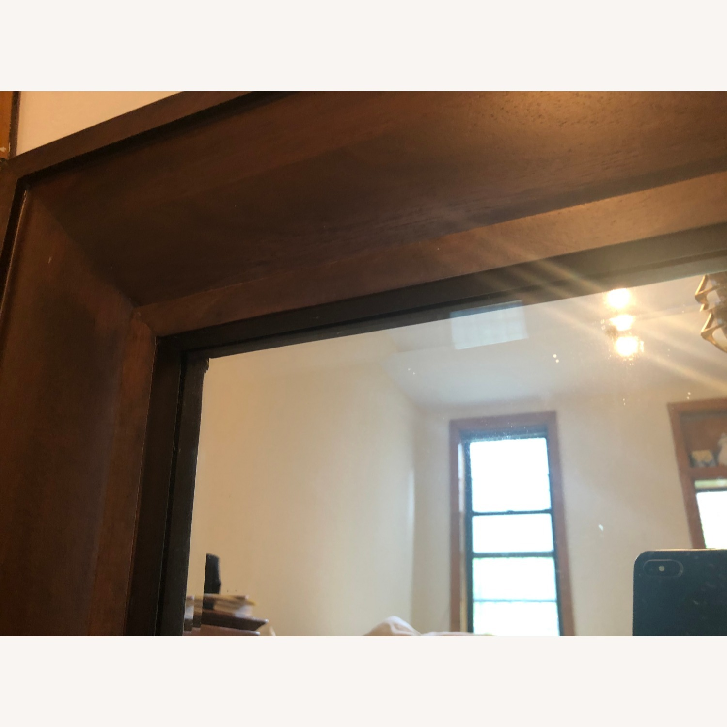 Pottery Barn Wooden Mirror - image-2