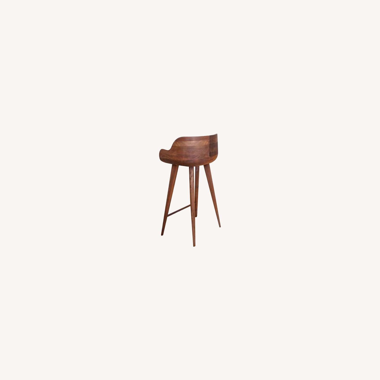 White X White Bar Chair - image-0