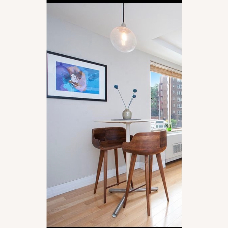 White X White Bar Chair - image-2