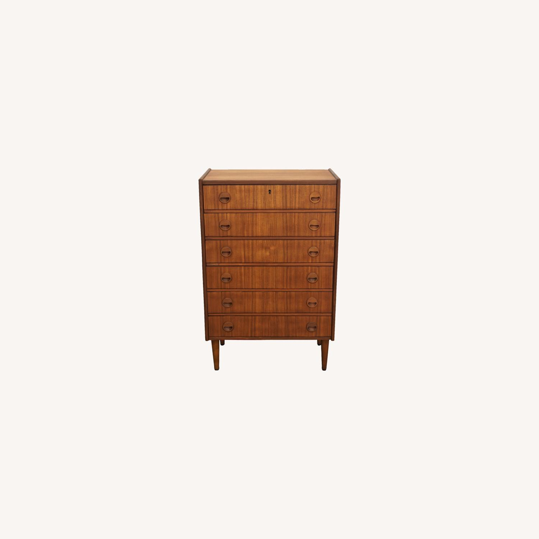 Vintage Danish Teak Dresser - Augusta - image-0