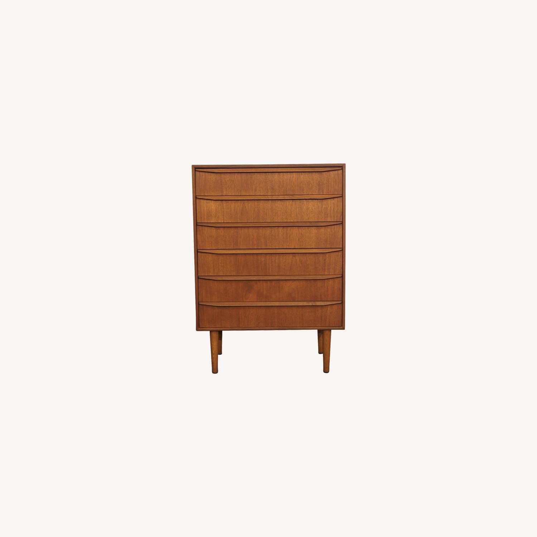 Vintage Danish Teak Dresser (Junne) - image-0