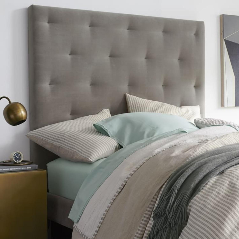 West Elm Storage Queen Bed with Headboard - image-2