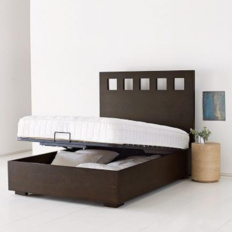 West Elm Storage Queen Bed with Headboard - image-5