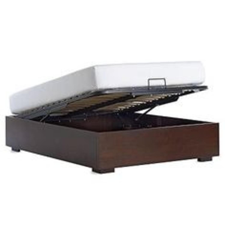 West Elm Storage Queen Bed with Headboard - image-4