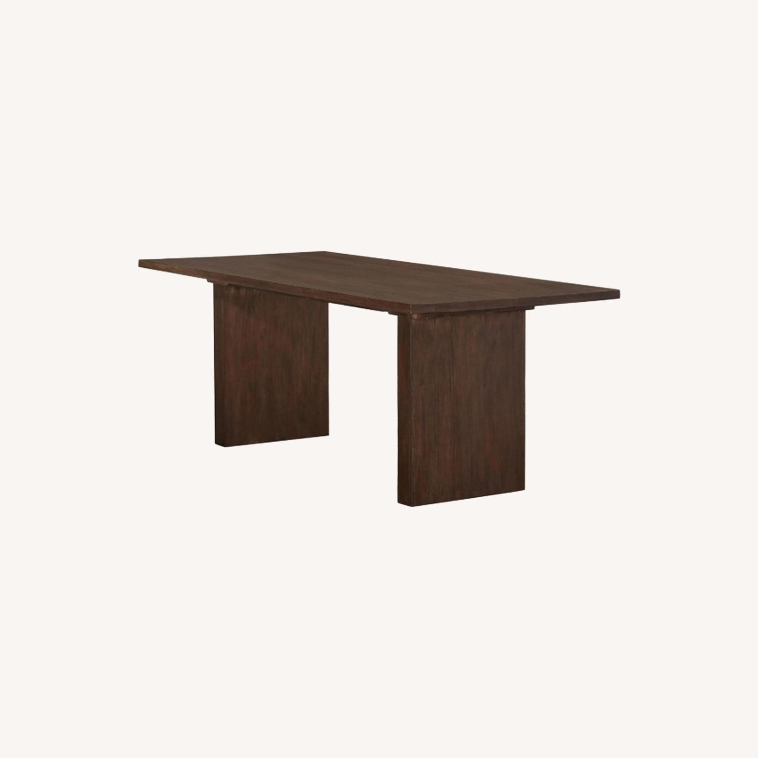 Modern Dining Table In Solid Mahogany - image-5