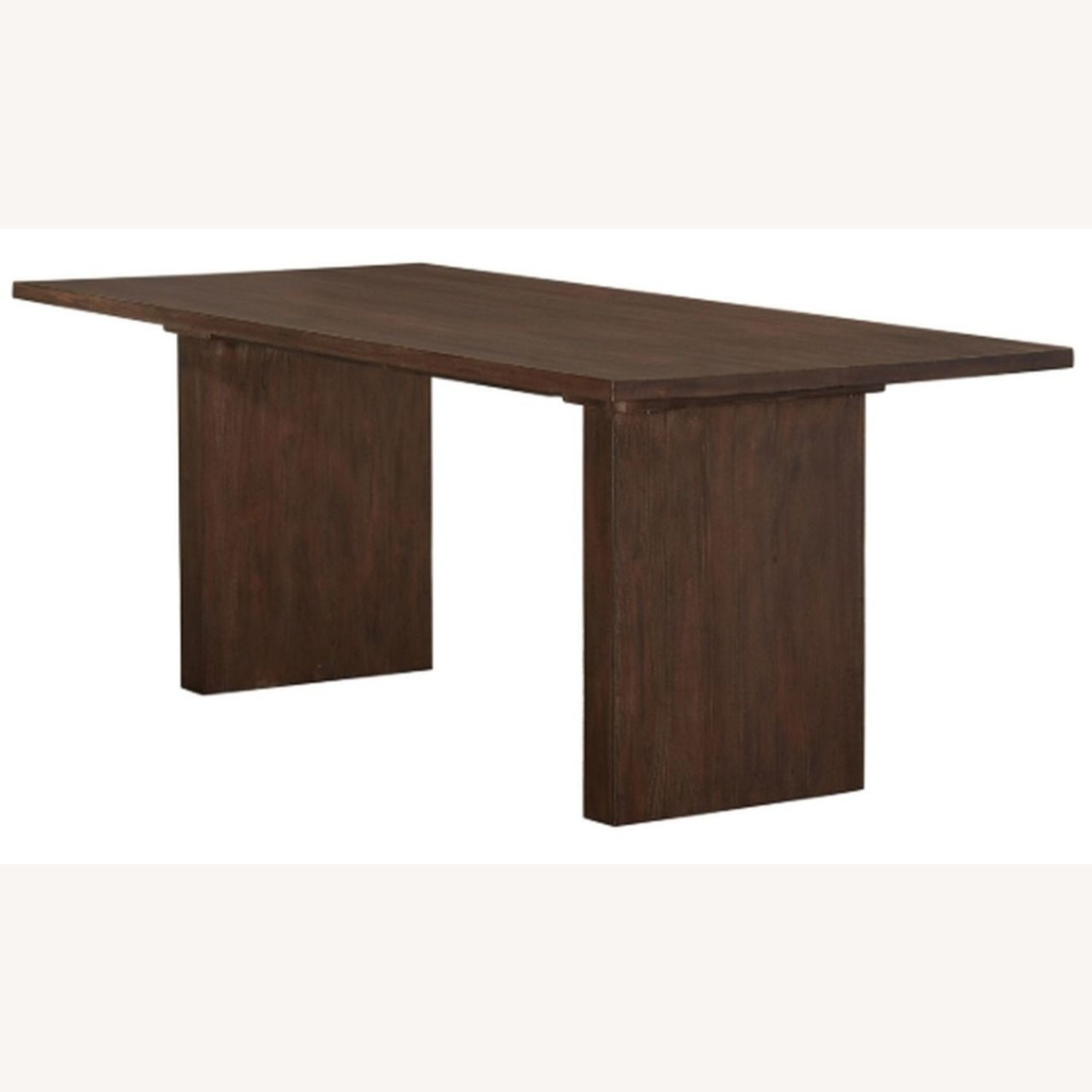 Modern Dining Table In Solid Mahogany - image-0