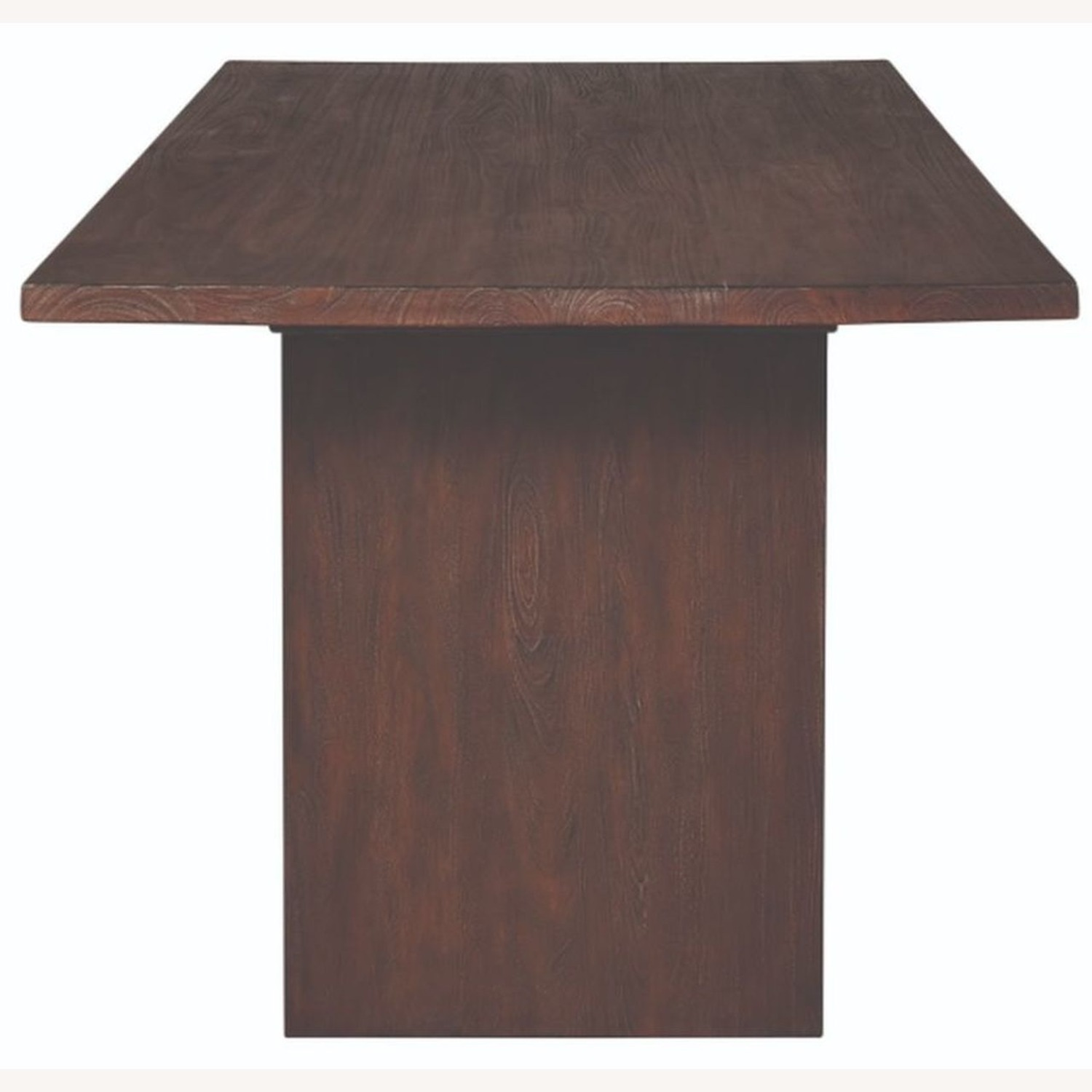 Modern Dining Table In Solid Mahogany - image-1