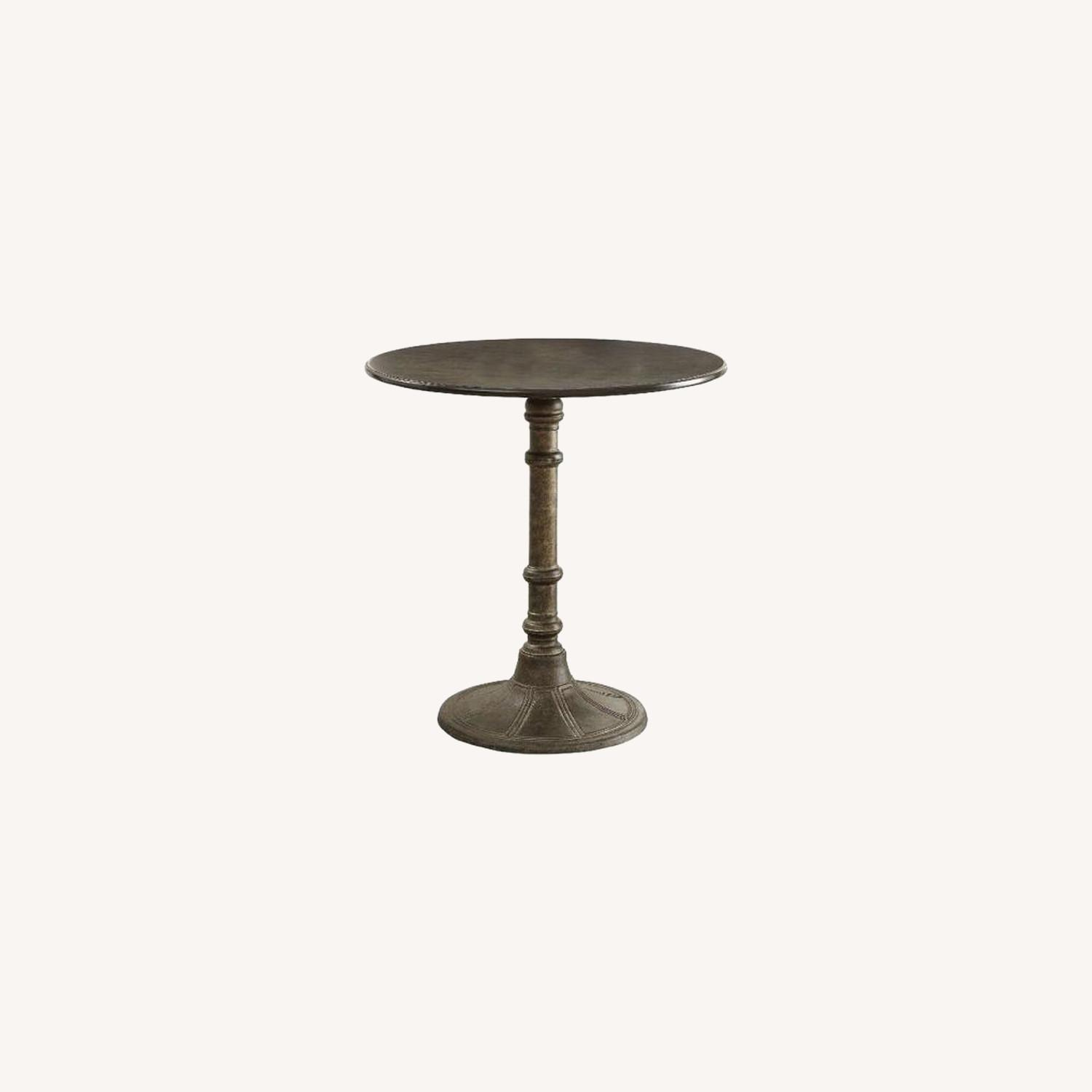 Beautiful Dining Table In Antique Bronze Finish - image-3