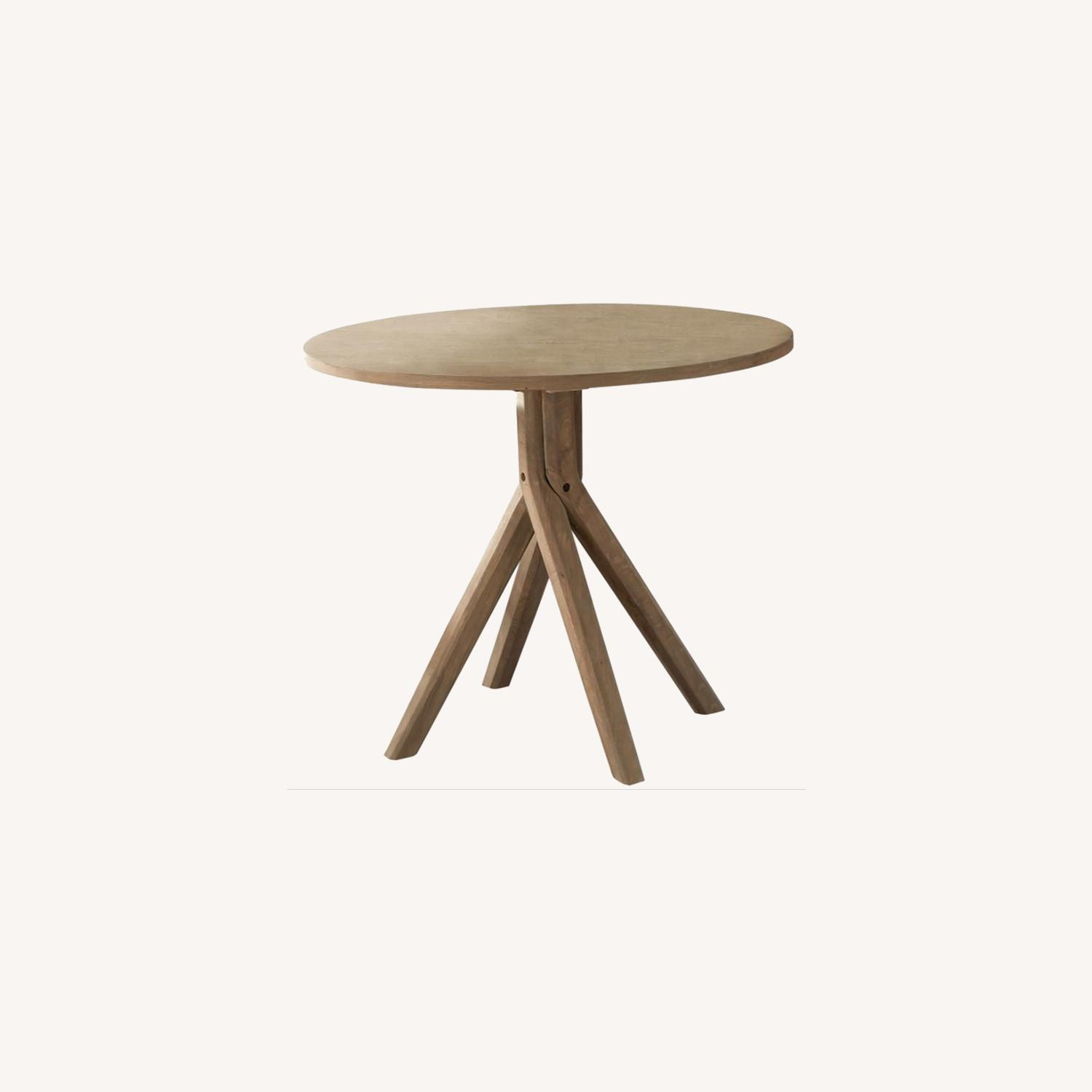 Classic Round Dining Table In Solid White Oak - image-3