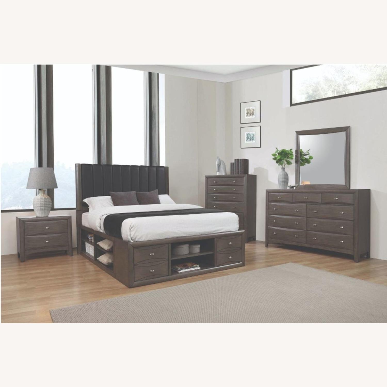 Modern Dresser In A Coco Grey Finish - image-3