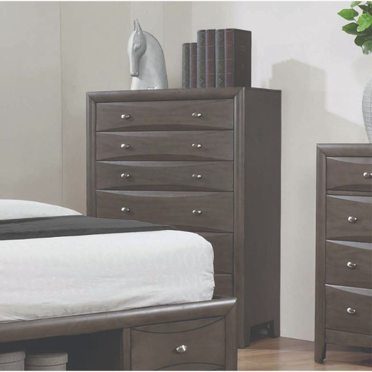 Chest In A Coco Grey Finish - image-2