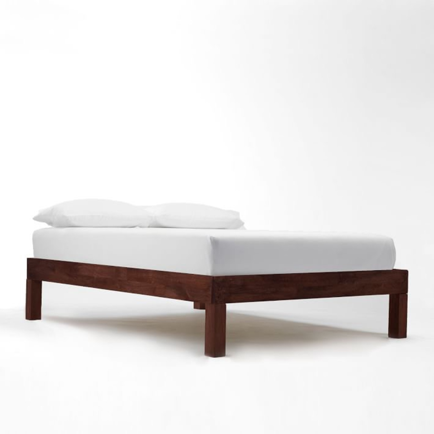 West Elm Leather + Boerum Tall Bed - image-3